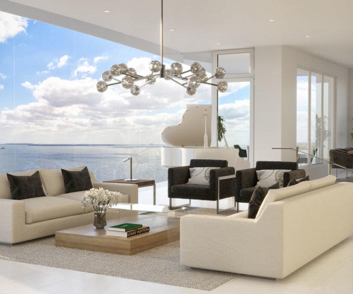 <p>Living Room - Contemporary</p>